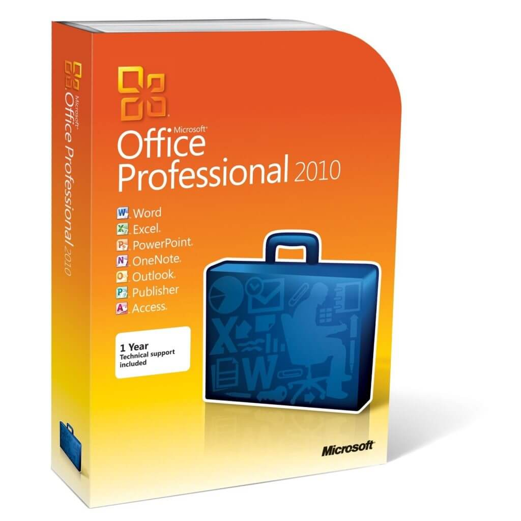 Microsoft Office Professional 2010 1-PC Instant Download