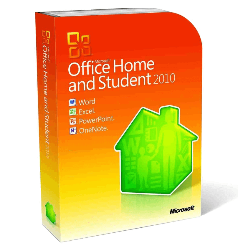 Microsoft Office Home & Student 2010 1-PC Instant Download